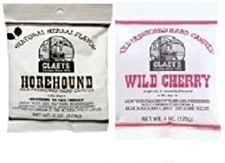 product image for Claeys Natural Horehound and Wild Cherry Set (1-6oz Bag of Each)