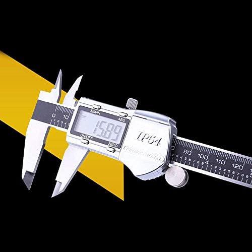 LSS-MDS Metal Appearance Vernier Caliper 150mm Stainless Steel Digital Caliper Industrial Grade Measuring Caliper (Size : 0-150mm)