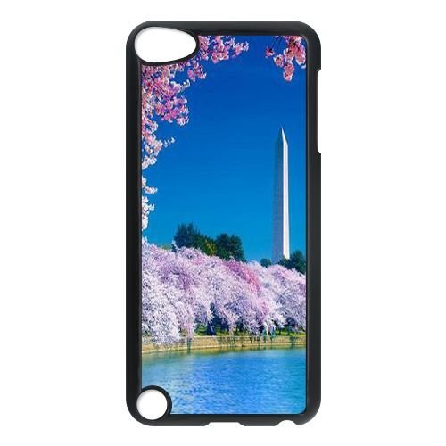 Custom Cherry blossoms Case for iPod touch5, DIY Cherry blossoms Touch 5 Phone Case, Cherry blossoms iPod Case Cover