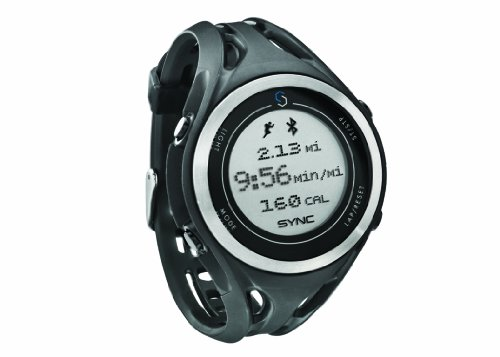 SYNC Men's GPS Watch-GPS Based Speed, Distance and Pace Relayed from iPhone