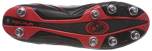 Homme Black Razor Red Optimum Red de Rouge Rugby Chaussures I7wwPpqU