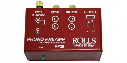 Rolls Phono Preamp Red