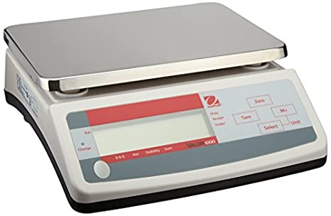 Ohaus V11P3 Valor 1000 Compact Industrial Scale, 3, 000g x 0.5g, 230