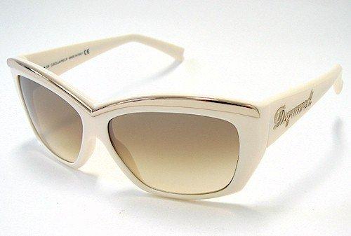 DSquared Gafas de sol 2 DQ 0017 dq0017 25 F crema oro marco ...