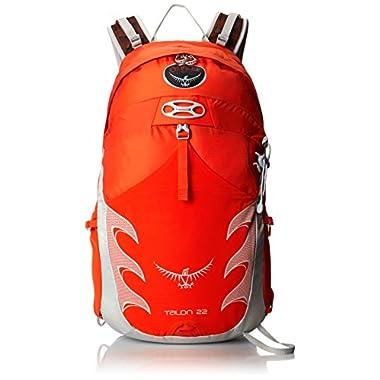 Osprey Packs Talon 22 Backpack, Flame Orange, Medium/Large