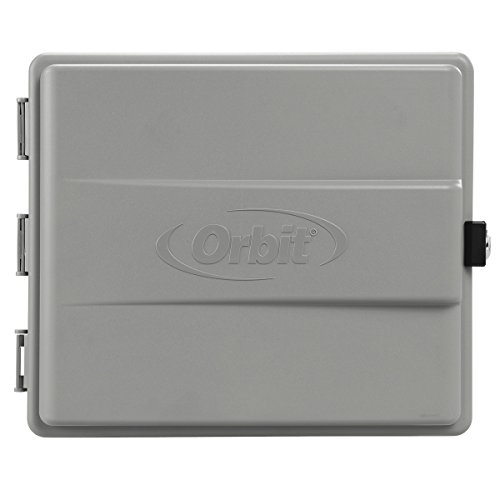 Orbit 57095 Sprinkler System Weather-Resistant Outdoor-Mounted Controller Timer Box Cover (Valve Water Covers)