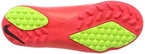 NikeMercurial Victory V TF - zapatillas de fútbol Niños-Niñas Rojo - Rot (Hypr Punch/Mtlc Gld Cn-Blk-Vlt 690)