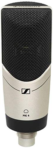 Sennheiser MK 4 Professional quality cardioid Large Diaphragm Condenser Microphone for home, project, and professional studios. True condenser capsule Ideal for vocals and acoustic instruments.