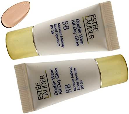 Estee Lauder Double Wear All Day Glow BB Moisture Makeup SPF 30 - Intensity 2.0 Duo Pack (0.24 Oz X 2)