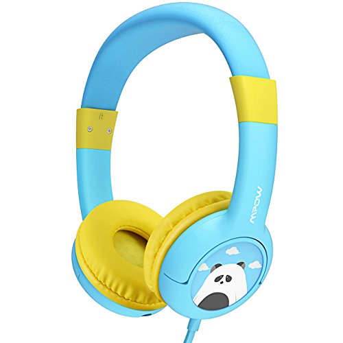 Sharing Music (Mpow Kids Headphones, Wired On-Ear Headphones with Music Sharing Function, 85dB Volume Limited Hearing Protection, Safe Food Grade Material, 3.5mm Audio Jack Headset for Children)