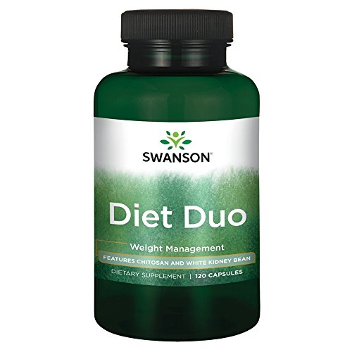 - Swanson Diet Duo with White Kidney Bean 120 Capsules