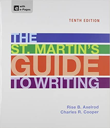 Amazon the st martins guide to writing 9781457630941 rise the st martins guide to writing tenth edition fandeluxe Gallery