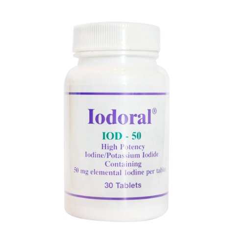 Optimox Corporation Iodoral IOD-50 30 tablets 50 mg