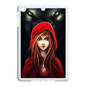 The Wolf High Quality Pattern Hard Case Cover for iPad Case Mini TSL333925