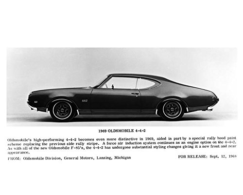 1969 Oldsmobile 442 Coupe Automobile Photo Poster from AutoLit