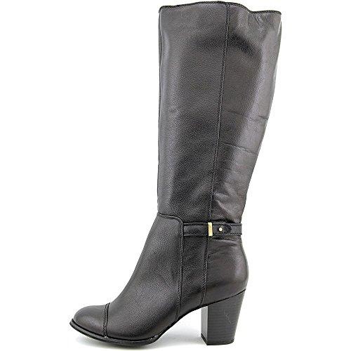 Giani Bernini Mujeres Ellee (ancho Becerro) Cuero Botas De Moda De La Mitad Del Becerro Botas De Moda Negro