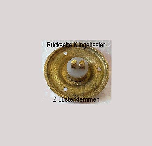Messing Antik Style Haustüre Klingel 1 Brass Door Bell Tür Türklingel K99P