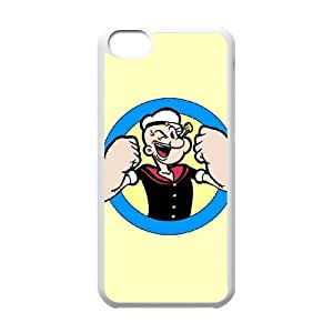 iPhone 5c Cell Phone Case White Popeye 1 F8M5XS
