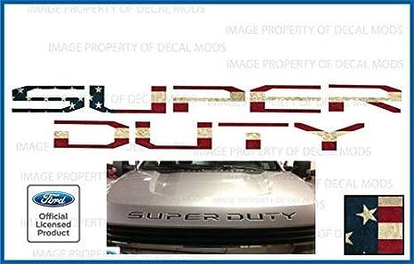Amazon.com: 2017 2018 2019 Ford Super Duty letras insertos ...
