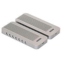Cablecc USB-C USB 3.1 3.0 Type-C to Nvme M-Key M.2 NGFF PCI-E 2 Lane SSD Enclosure