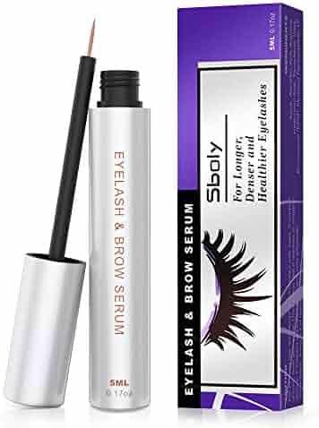 97dc183c847 Eyelash Growth Serum, 100% Natural Lash Brow Enhancer, Lash Enhancing Serum  for Boost