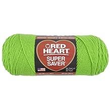 Coats: Yarn Red Heart E300.0672 Super Saver Economy Yarn, Spring Green