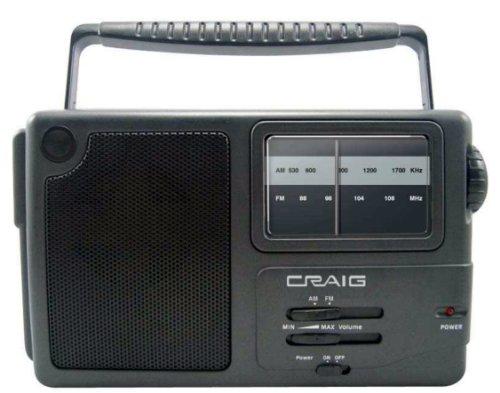 Craig Portable Am/Fm Radio