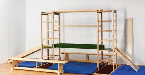 Klettergerüst Holz Kinderzimmer : Klettergerät erzgebirge indoor sport und spielgerät aus holz