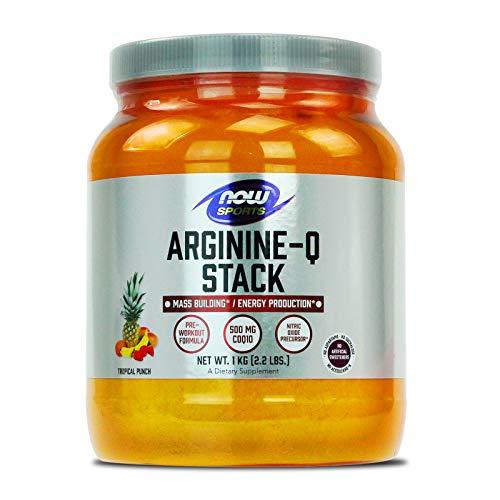 Arginine-Q Stack Powder, Tropical Punch Flavor, 2.2 LBS