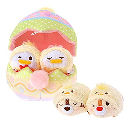 Disney Store TSUM TSUM (Egg House set, Easter Disney characters) Japan Import cute