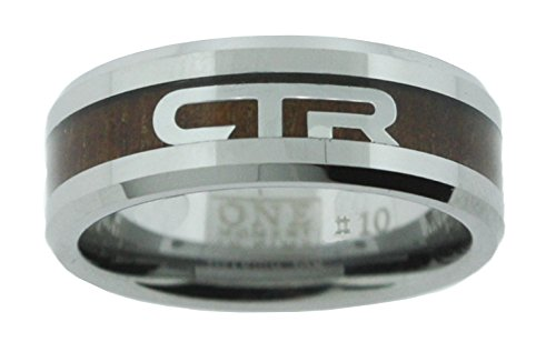 One Moment In Time Duo - Titanium Ion Wood & Steel - CTR Ring - J185 (11)