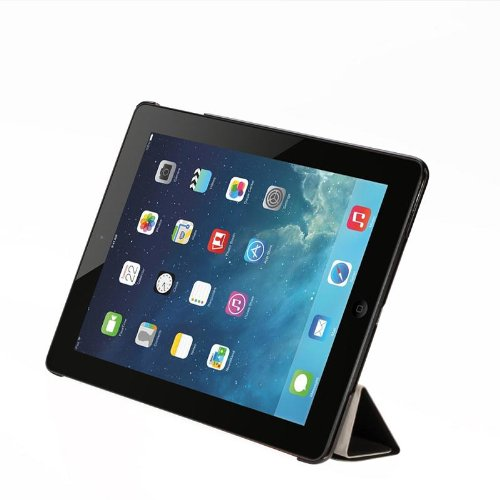 Maximal Power PU Leather Folio Stand Ultra Slim Cover Case for Apple iPad 5, iPad Air, Black (POU IPADAIR/BK) by MaximalPower (Image #4)