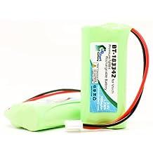 2x Pack - VTech BT-183342 Battery - Replacement for VTech Cordless Phone Battery (700mAh, 2.4V, NI-MH)