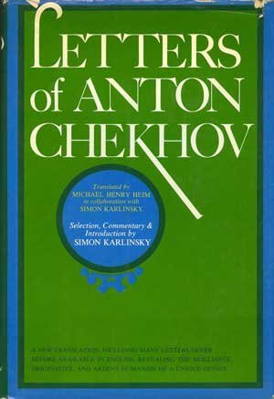 book cover of Letters of Anton Chekhov