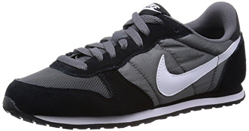 Nike Women's Genicco Dark Grey/White/Black Ankle-High Synthetic Fashion Sneaker – 6M