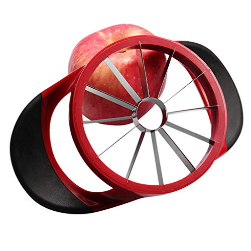 (yanyu63 Kitchen Apple Slicer Cutter Pear Fruit Divider Tool Comfort Handle Peeler)