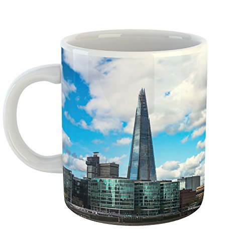 Westlake Art - Sky Urban - 15oz Coffee Cup Mug - Modern Picture Photography Artwork Home Office Birthday Gift - 15 Ounce - Corporate Obelisk