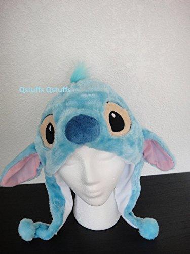Stitch Costume Hat (Disney Stitch Lilo Plush Hat Earmuff USA Seller)