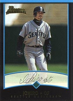 (2001 Bowman Draft Picks #BDP84 Ichiro Suzuki Rookie Card - Near Mint to Mint )