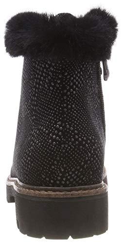 26271 Negro Nieve Tozzi Marco Botas 21 Mujer De black Para 061 pewter gH5wqB
