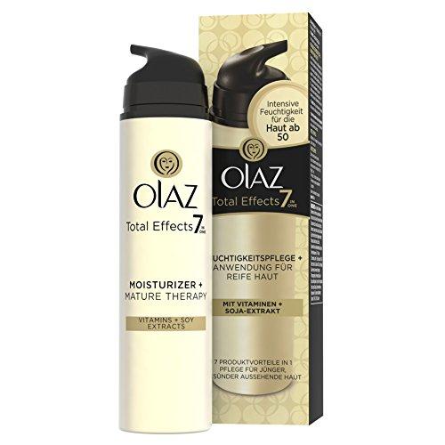Olaz Total Effects 7-in-1 Feuchtigkeitspflege plus, Anwendung für reife Haut, 1er Pack (1 x 80 g)