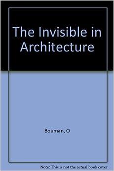 Book The Invisible in Architecture