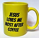KoppingsKrew Jesus Loves Me Most After Coffee 11oz Mug