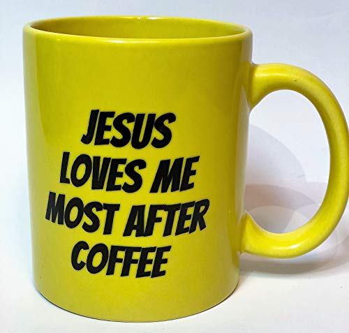 KoppingsKrew Jesus Loves Me Most After Coffee 11oz Mug by Koppingskrew