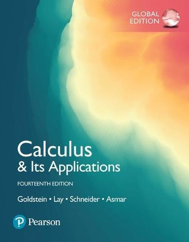 Calculus & Its Applications, Global Edition