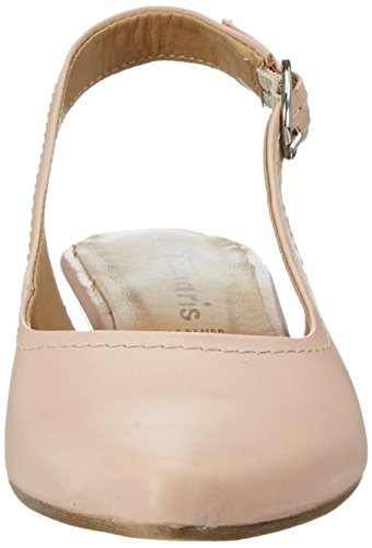 Leather Donna con Zeppa Sandali Rosa Rose 531 29400 Tamaris Zw071qxv7