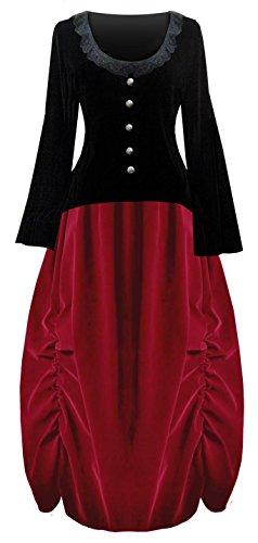 lady antebellum red dress - 8
