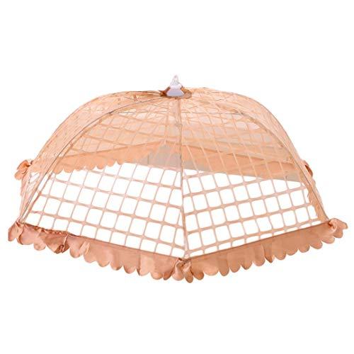 Kitchen Food Umbrella Cover, Sttech1 New Fashion Pop-up Picnic Barbecue Party Fly Mosquito Mesh Net Tent Fly Mosquito Bugs Preventing (L, - Tent With Picnic Net