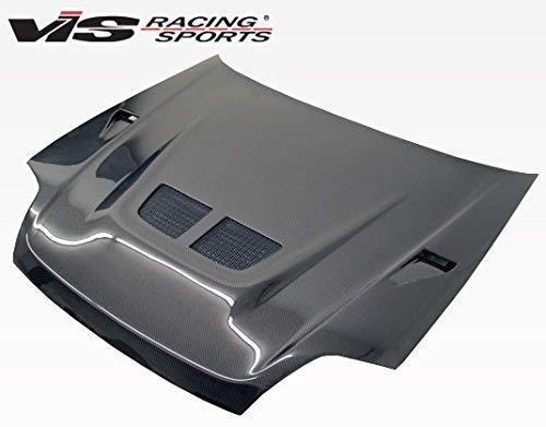 VIS Racing (VIS-BJY-033) Black Carbon Fiber Hood EVO Style for Honda Prelude 2DR 97-01