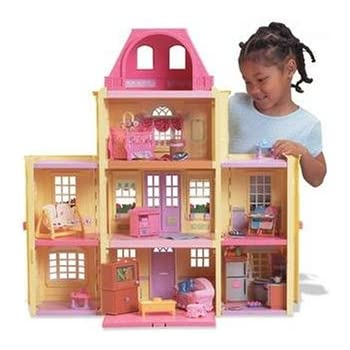 Amazon Com Fisher Price Loving Familytm Grand Dollhouse